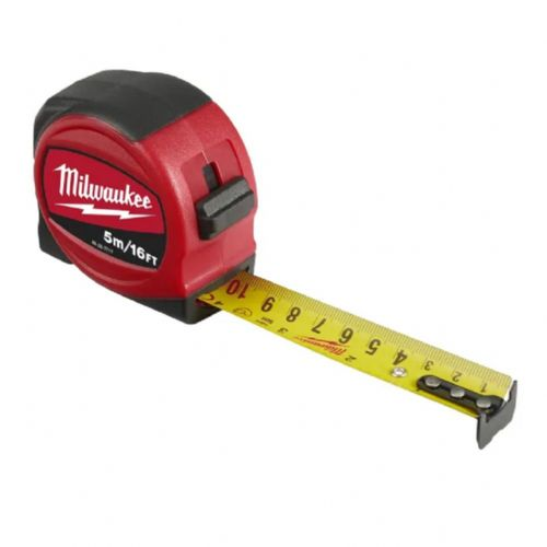 Milwaukee 48227717 Slimline Tape Measure 5m/16ft (Width 25mm)